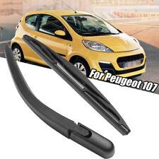 Rear Windscreen Wiper Blade + Arm Set Kit For Peugeot 107 Citroen C1 Toyota Aygo