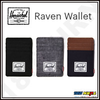 Herschel Supply Men's Raven RFID Wallet with Money Clip, Multiple Card Slots