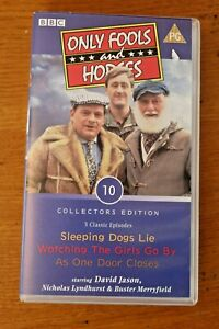 VHS Tape Only Fools & Horses 3 x Classic Episodes Collectors Edition 10 Sleeping