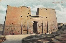 BR46787 Edfu Temple Gate    Egypt