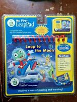 My First LeapPad Book: Leap to the Moon Preschool Math NEW