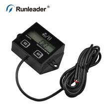 Runleader HM011A Battery Replaceable Inductive Tachometer RPM For gas engine