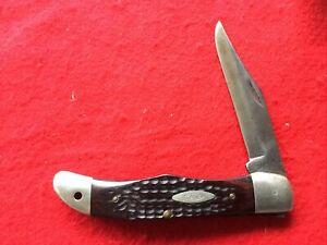 1965-69 Case XX 6165 SAB Pocket Knife Folding Hunter Used