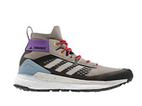 Adidas Womens Shoes TERREX FREE HIKER OUTDOOR SHOES Light Brown Grey Size 8