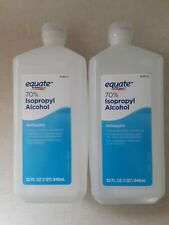 Equate 70% Isopropyl Alcohol - TWO 32 OZ - First Aid - Antiseptic - Sterilizer