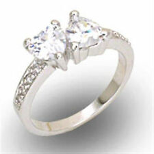 Unbranded Diamond Love & Hearts Fashion Rings