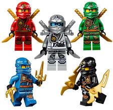 LEGO® Ninjago™: Ninja's set of 5 - Lloyd, Cole, Jay, Kai, Zane Zukin Robes