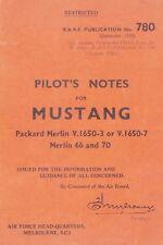 COMMONWEALTH C.A.17 MUSTANG - AUSTRALIAN BUILT P-51