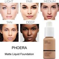 PHOERA Foundation-Makeup Full Coverage Fast Base Brighten long-lasting Shade