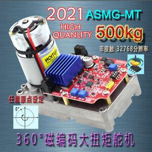 ASME-MTB (500kg.cm) Non-contact Magnetically Encoded High Torque Servo 15-Bit 1P