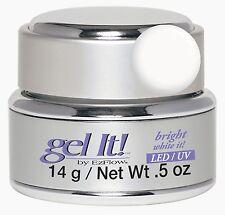 EzFlow LED/UV Gel It Bright White It - 14 g / 0.5 oz -42361