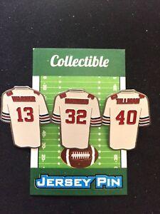 Arizona Cardinals Pat Tillman jersey lapel pins & more-BIRD Nation Collectibles