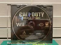 Call Of Duty: World At War - Nintendo Wii Game - DISC ONLY