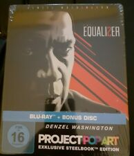 Blu-ray Project Popart Steelbook The Equalizer 2*Bonus Disc*Denzel Washington*