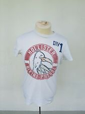 Hollister T-Shirt Weiß Gr S mit Motive top