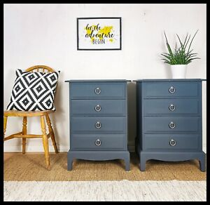 Pair of Stag Bedside tables - urban / modern / contemporary / Boho / scandi