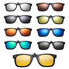 Aviator Frosted Sonnenbrille Clip-On Polarisierte UV400 Brillen für Frau Männer
