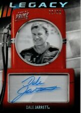 2019 Panini Prime Dale Jarrett Legacy Autograph Parallel #72/99.