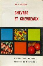 Chèvres et Chevreaux - AD J Charon  - Rustica 1956