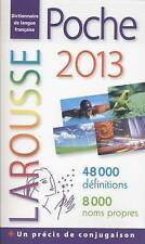 NEW Dictionnaire Larousse de poche 2013 (French Edition) by Collective