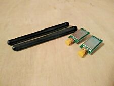 nRF24L01 Transceiver Module with Power Amp, RF Shield, and Antenna Qty 2