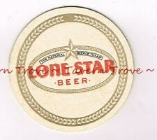 "1980s LONE STAR BEER National Beer of Texas 3¾"" Coaster"