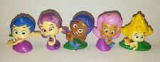 NICK JR BUBBLE GUPPIES Figures Lot of 5 Molly Gil Goby Deema Oona Characters