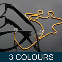 Glasses Sunglasses Reading Spectacles Neck Cord Strap Metal Chain 61cm C8