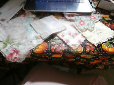 Lot of Vintage Women's Hankies or Handkerchiefs    -X