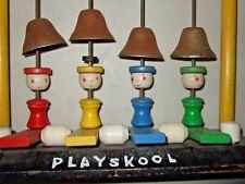 RARE vintage 1930's PLAYSKOOL wood child's piano toy  NICE!