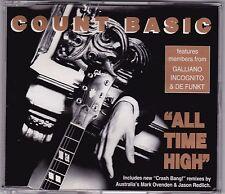 Count Basic - All Time High - CD (CB610D Crash Bang Australia 3 x Track)