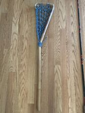 Vintage wooden Bamboo Lacrosse Stick 1960's - 70's