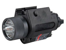 DLP Tactical 350 Lumen LED Weapon Light + Laser
