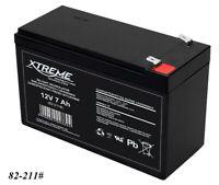 Gel AGM Batterie Xtreme 12V 7Ah zyklenfest wartungsfrei ersetzt 7,5Ah 7,2Ah 9Ah