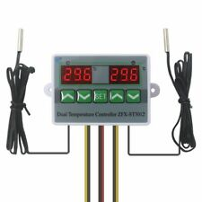 Digital Dual Temperature Controller Regulator Thermostat Embedded Device Sensors