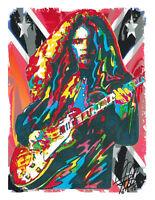 Gary Rossington Lynyrd Skynyrd Freebird Rock Music Print Poster Wall Art 8.5x11