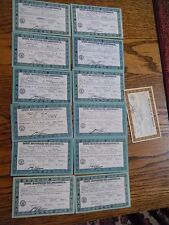 13 Vintage Scouting Badge Award Certificates  by Boy Scouts of America  1930's