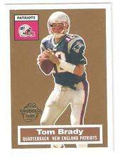 2005 TOM BRADY TOPPS TBTC 50 YEAR ANN. CARD #6!!!!!!!!!!!!!PATRIOTS!!!!!!!!!!!!!