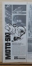 "New listing 1969 magazine ad for Moto-Ski snowmobiles - 1979 model Ms-18 the ""Big One"""