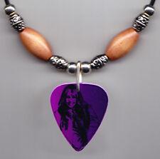 Miley Cyrus Hannah Montana Photo Guitar Pick Necklace