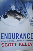 BOOK  ILLUSTRATED PLANES AIRCRAFT ENDURANCE SCOTT KELLY 387 PAGES