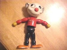 "Vintage PETE THE PUP Joseph Kallus 1927 Wooden Composite Toy Dog 11"" Tall K661"