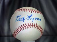 Ted Lyons Certified Jsa Signed American League Baseball Authentic Autograph