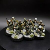 Well Painted 28mm Bolt Action German Winter Infantry ×10 Squad #2