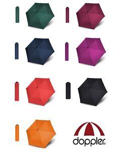 Doppler Taschenschirm Regenschirm zero,99 Handöffner Windkanal Ø90 leicht 99g