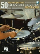 50 Syncopated Snare Drum Solos A Modern Approach for Jazz Pop and Rock 000119645