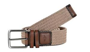 Dockers Mens 1 3/8 Inches Stretch Fabric Braided Belt