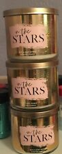 In The Stars Bath and Body Works Three Wick Candle X 3