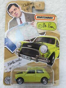 MATCHBOX MAINLINE- Mr Bean Mini Cooper - NEW and MINT