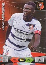 MANGANE # SENEGAL RENNES RENNAIS XANAX TRADING CARDS ADRENALYN PANINI FOOT 2011